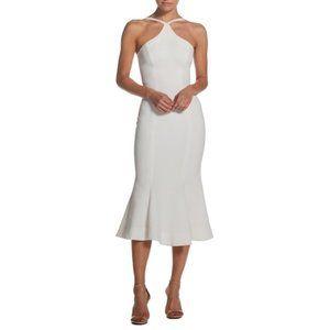 Dress The Population Tessa Midi Mermaid Dress NWT